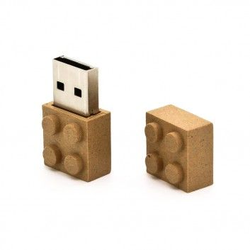 Cle USB Brique Biodegradable  - 3