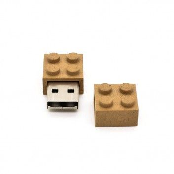 Cle USB Brique Biodegradable  - 4