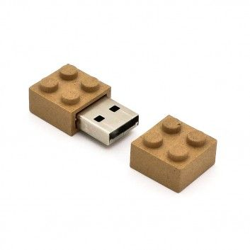 Cle USB Brique Biodegradable  - 5