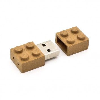 Cle USB Brique Biodegradable  - 6