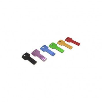 Cle USB Clef Carre Color  - 1