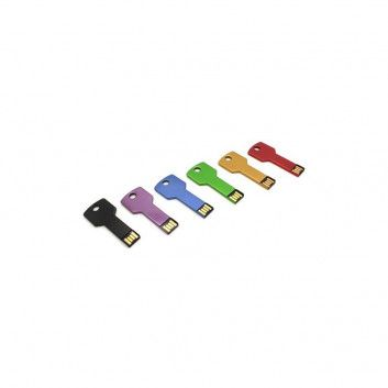 Cle USB Clef Carre Color  - 2