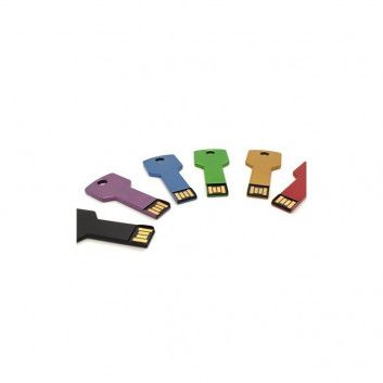 Cle USB Clef Carre Color  - 3
