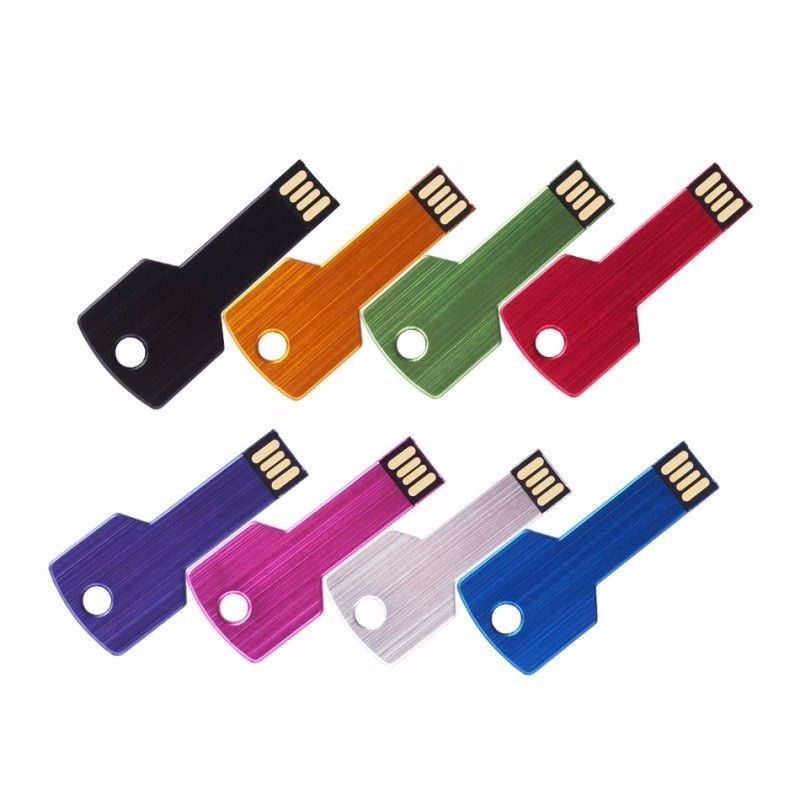 Cle USB Clef Carre Color  - 22