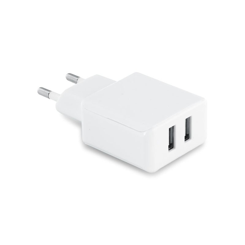 Prise Universelle Chargeur Mural Double  - 1