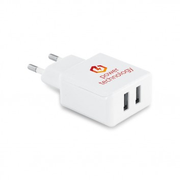 Prise Universelle Chargeur Mural Double  - 2
