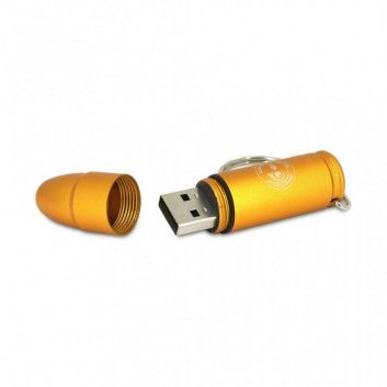 Cle USB Balle Pistolet Or  - 6