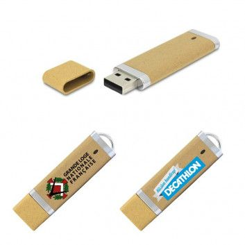 Cle USB Galaxie Biodegradable  - 1