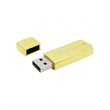 Cle USB Glacée Or Arrondie  - 1