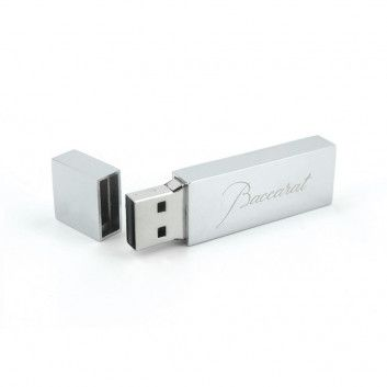 Cle USB Luxe Argent  - 2