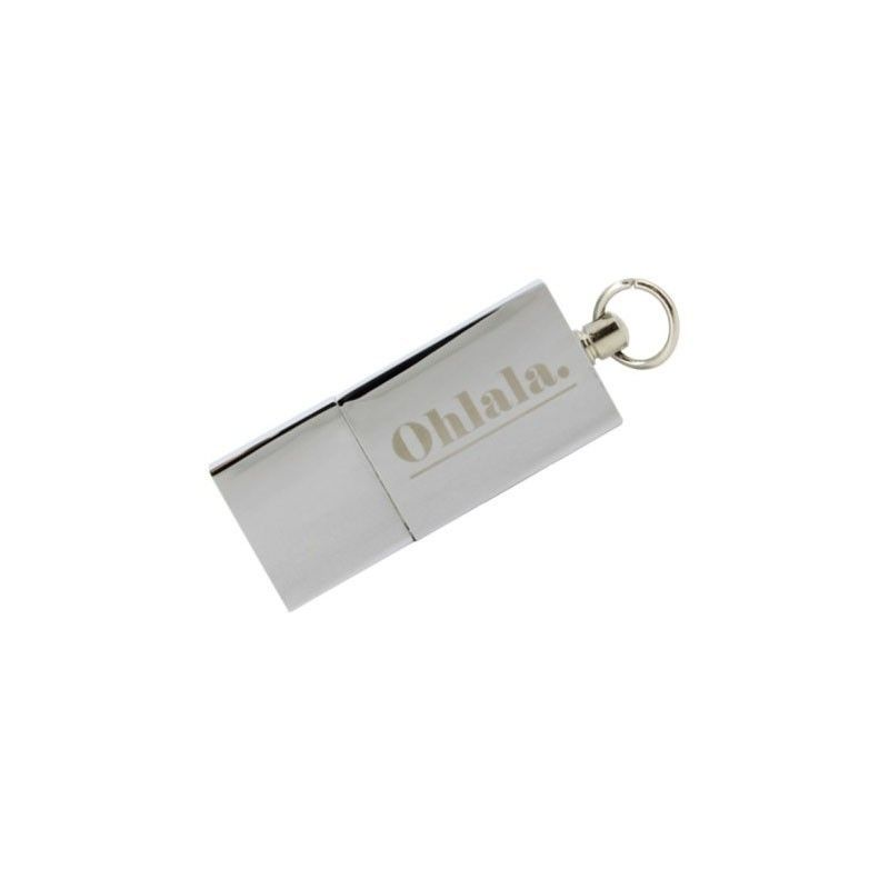 Cle USB Mini Glacee Argent  - 1