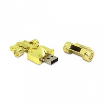 Cle USB Voiture Formule 1 Or  - 8