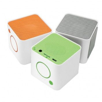 Enceinte Bluetooth Mini Cube  - 2
