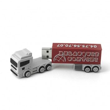Cle USB Camion Truck  - 12