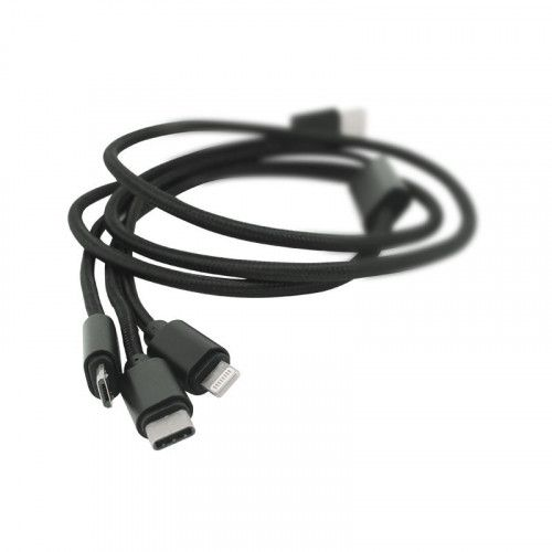 Câble USB Nylon 3 en 1