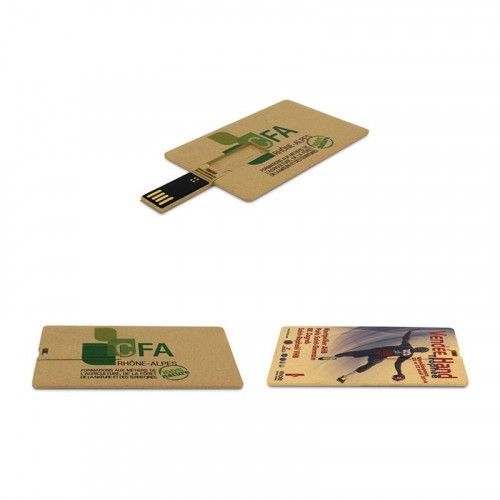 Cle USB Carte Affaire Biodegradable