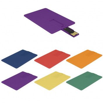 Cle USB Carte de Credit Couleur  - 2