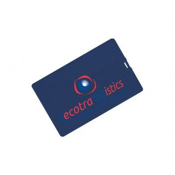 Cle USB Carte de Credit Couleur  - 1