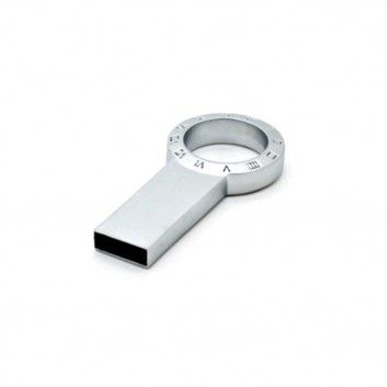 Cle USB Cadran Romain Metal  - 6