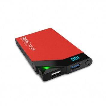 Batterie Power Bank Charge Rapide  - 18