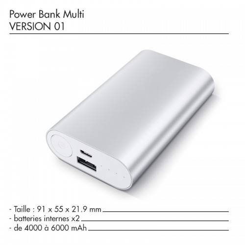 Batterie Power Bank Multi
